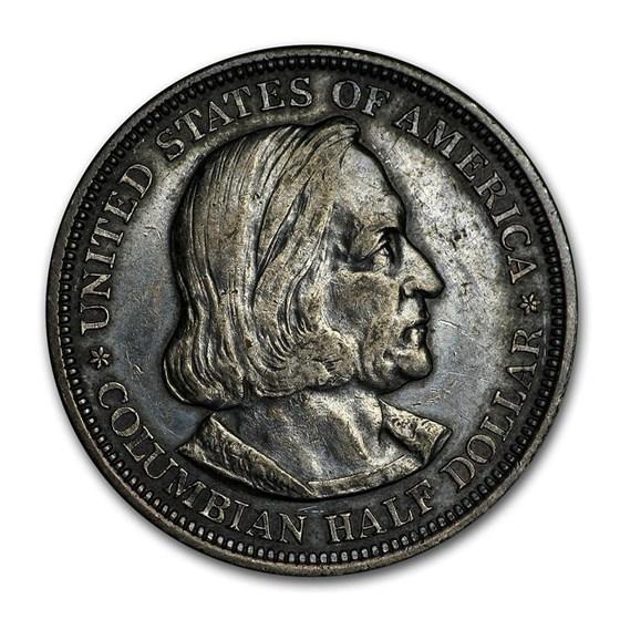 1892 Columbian Expo Half Dollar XF