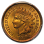 1892 Indian Head Cent MS-65 PCGS (Red/Brown)