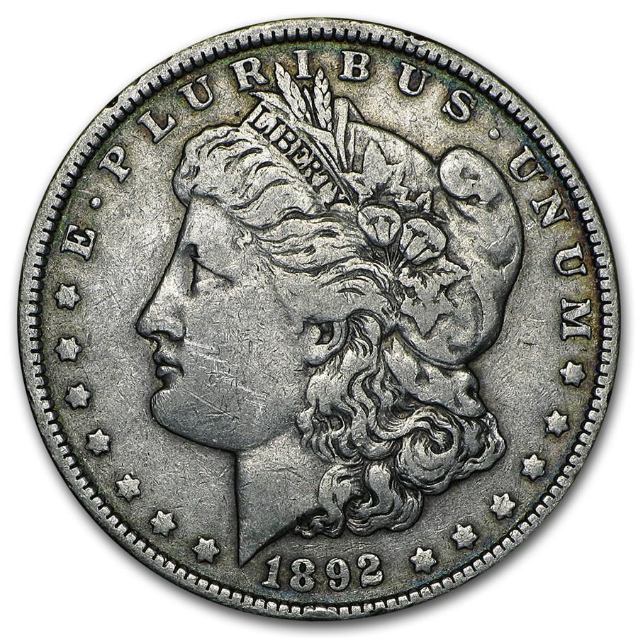1892 Morgan Dollar VF