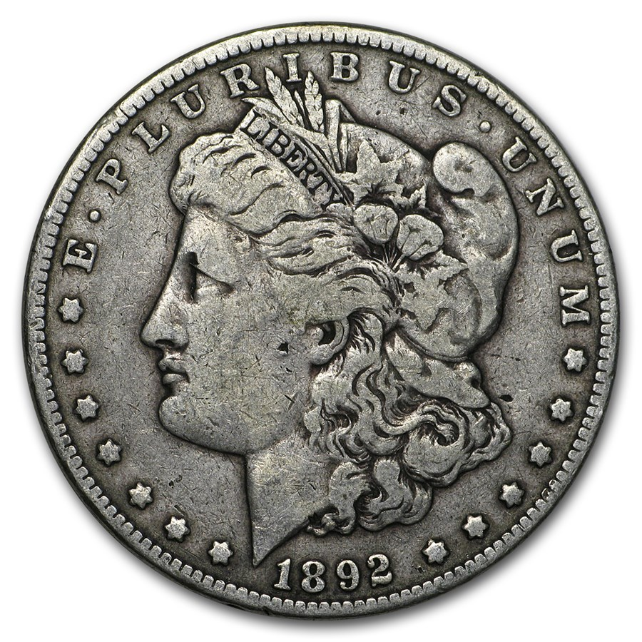 1892 Morgan Dollar VG/VF