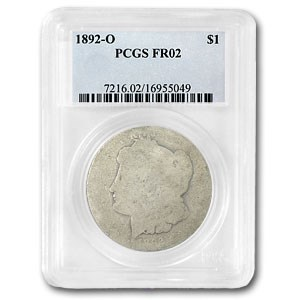 1892-O Morgan Dollar Fair-2 PCGS (Low Ball Registry)