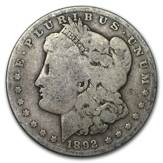 1892-O Morgan Dollar Good