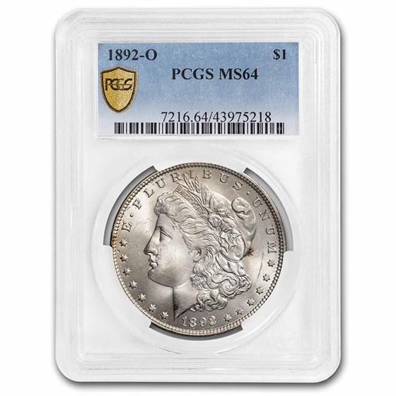 1892-O Morgan Dollar MS-64 PCGS