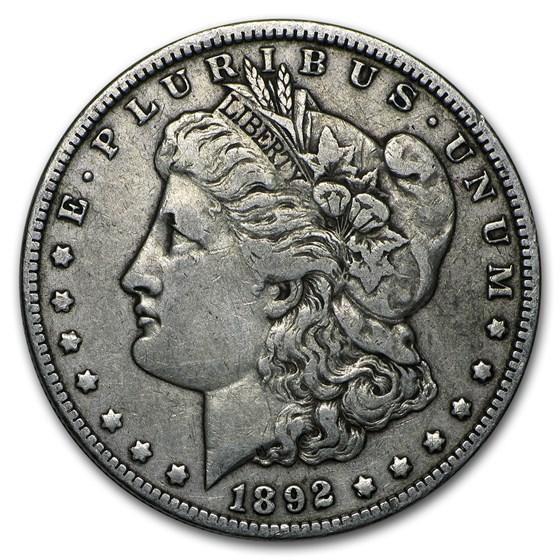 1892-O Morgan Dollar VF