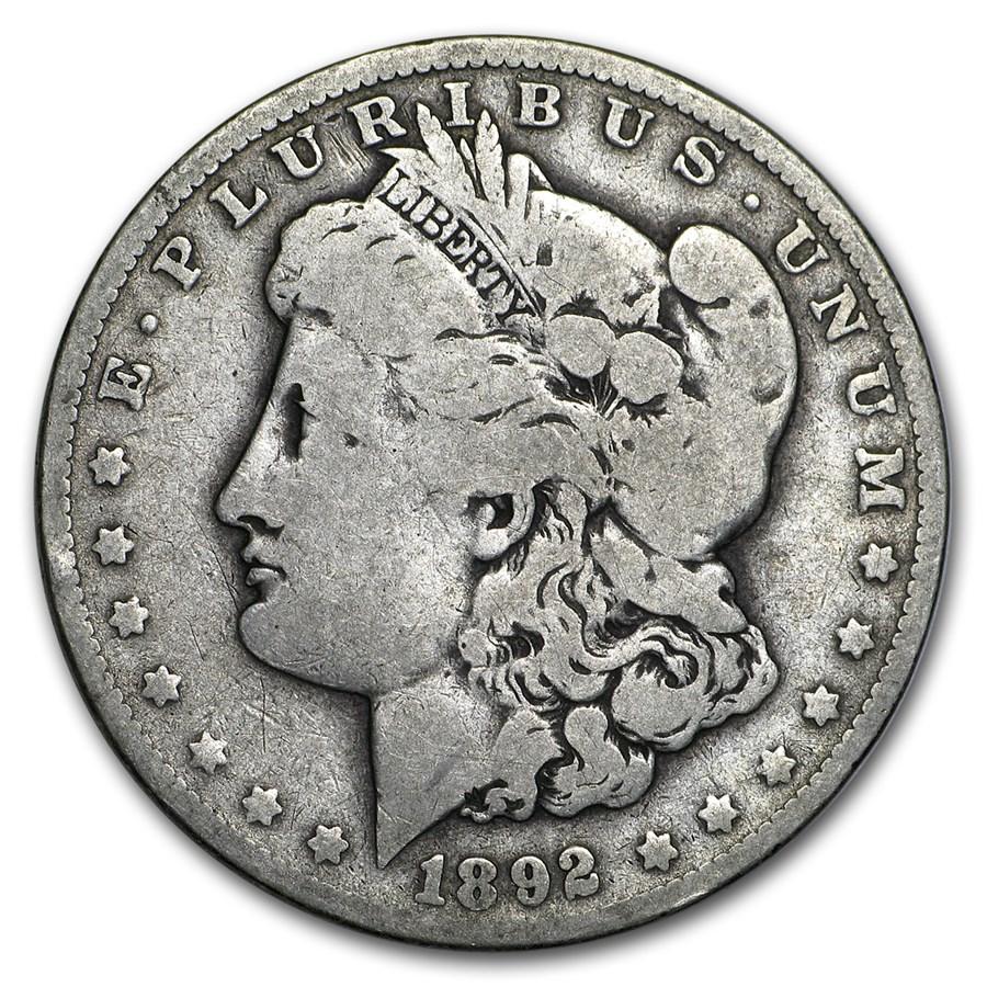 1892-O Morgan Dollar VG