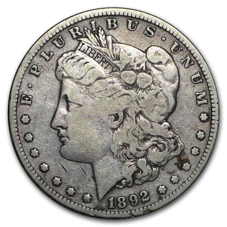 1892-S Morgan Dollar Fine
