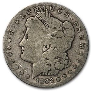 1892-S Morgan Dollar Good