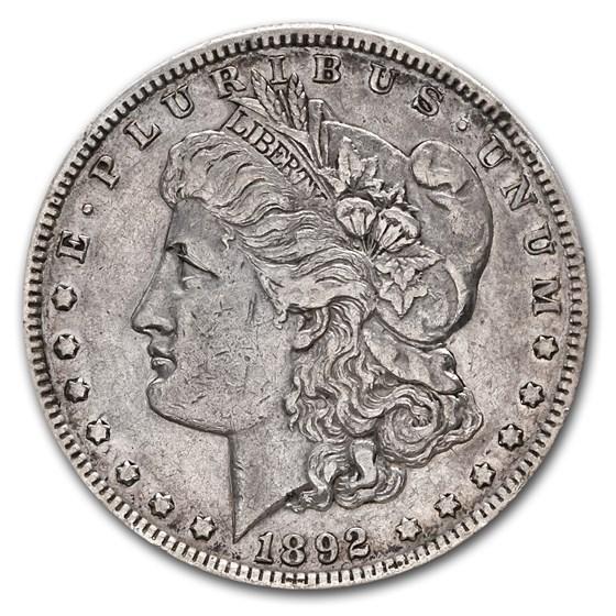 1892-S Morgan Dollar XF-45