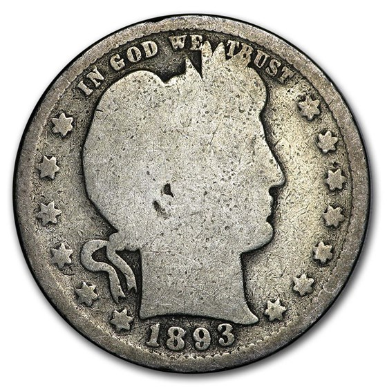 1893 Barber Quarter AG