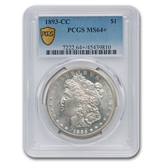 1893-CC Morgan Dollar MS-64+ PCGS