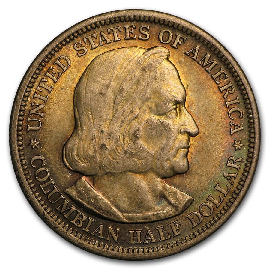 1893 Columbian Expo Half Dollar BU (Beautifully Toned)