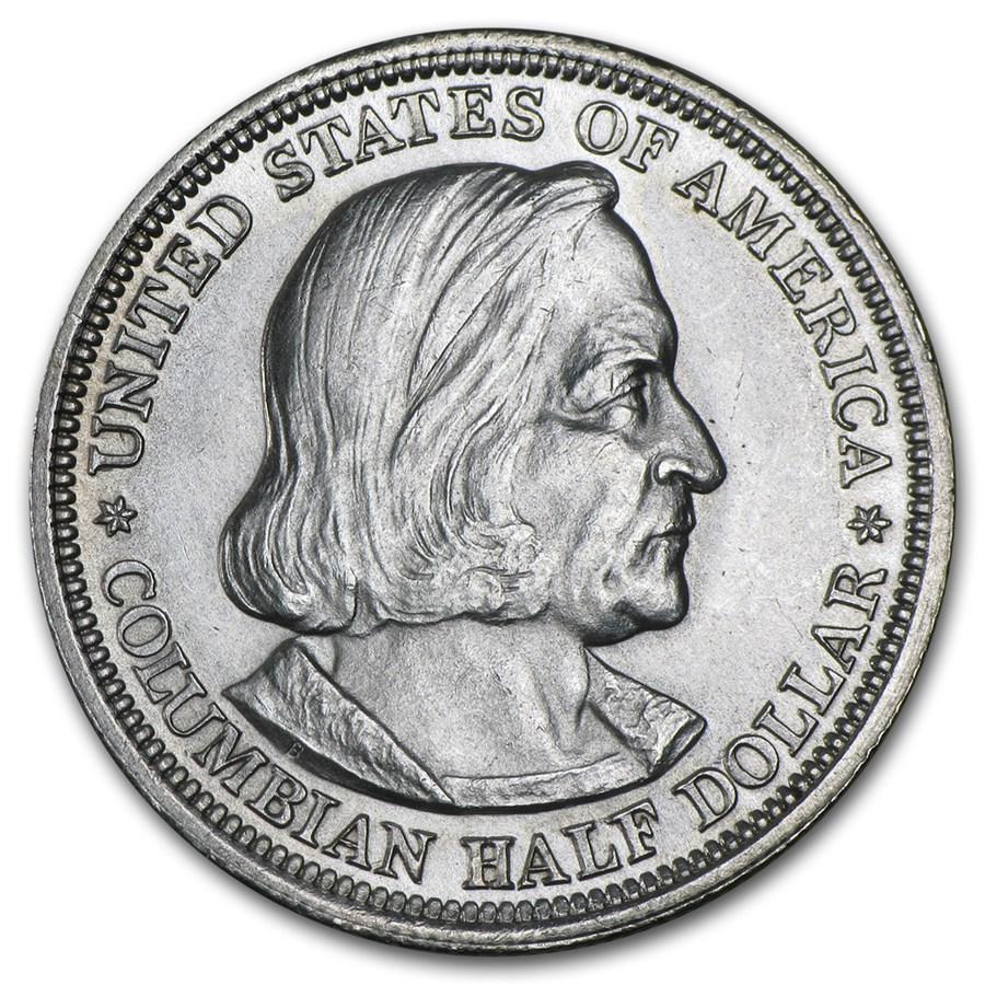 1893 Columbian Expo Half Dollar BU