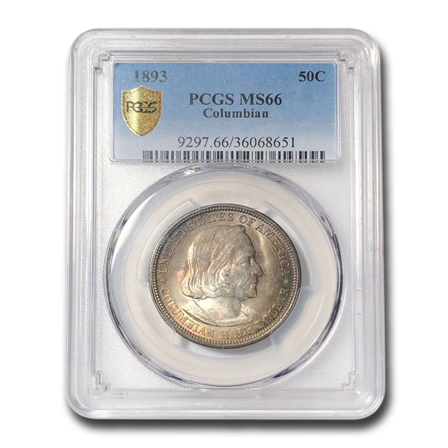 1893 Columbian Expo Half Dollar Expo MS-66 PCGS