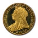 1893 Great Britain Gold 2 Pounds Victoria PR-64 DCAM PCGS