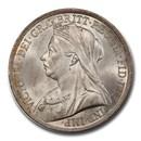 1893 Great Britain Silver Crown Victoria Veil MS-65 PCGS
