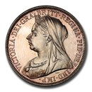 1893 Great Britain Silver Florin 2 Shillings Victoria PR-64 PCGS