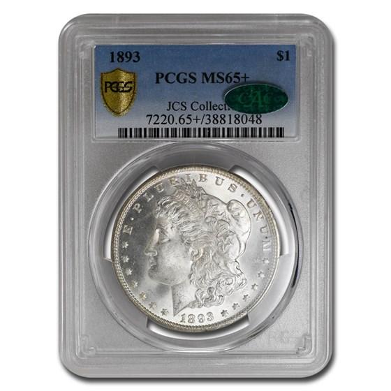1893 Morgan Dollar MS-65+ PCGS CAC