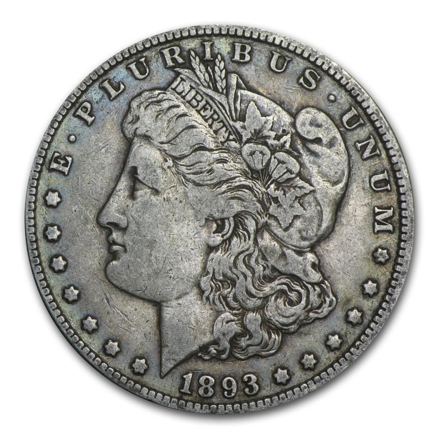 1893 Morgan Dollar VF