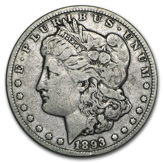 1893 Morgan Dollar VG