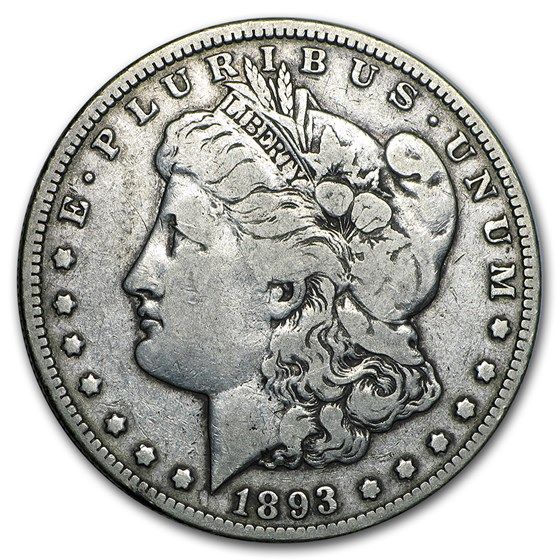 1893-O Morgan Dollar Fine