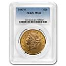 1893-S $20 Liberty Gold Double Eagle MS-62 PCGS