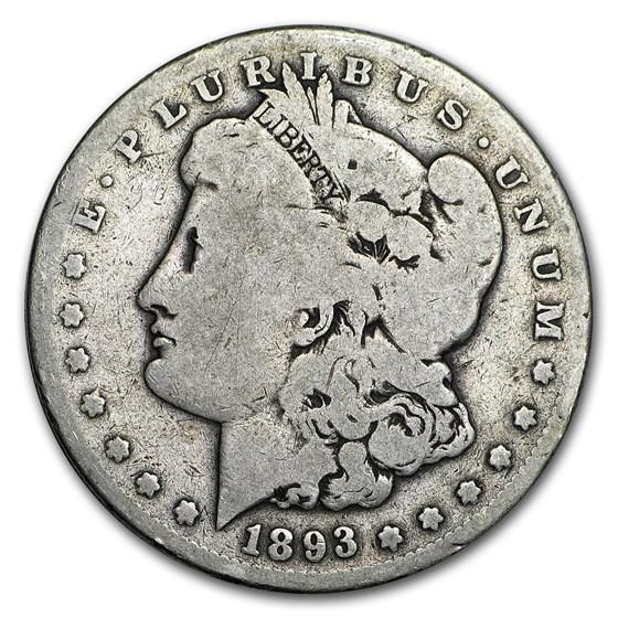 1893-S Morgan Dollar Good