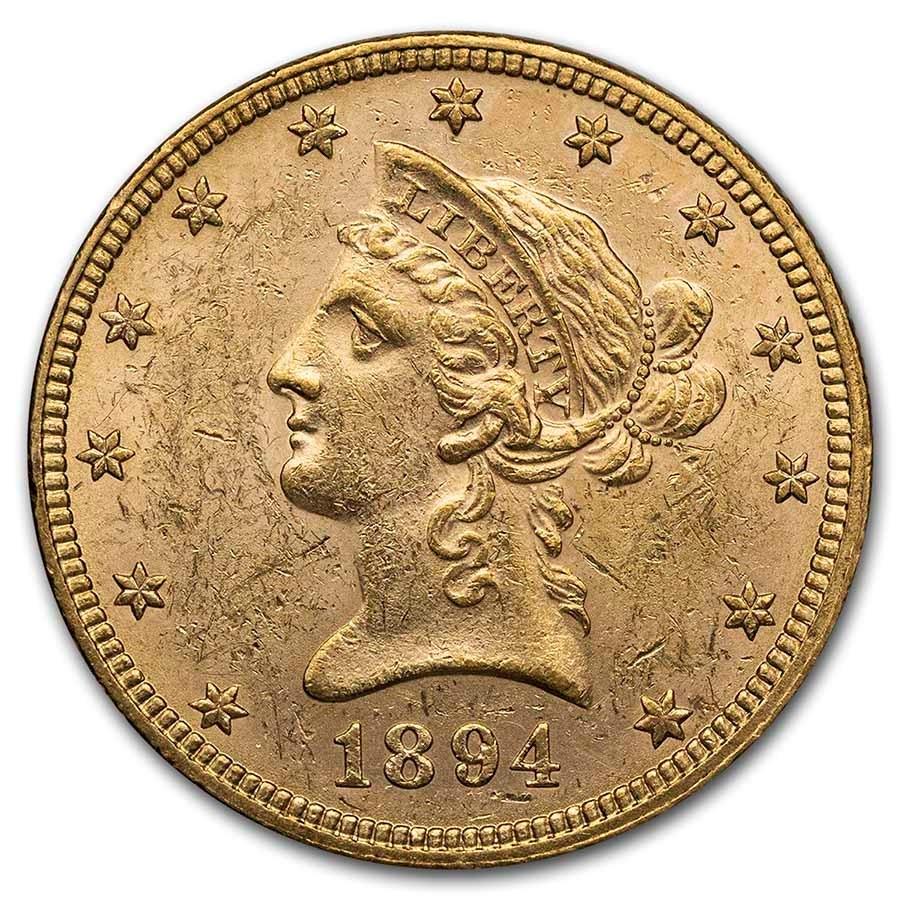1894 $10 Liberty Gold Eagle BU