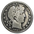 1894 Barber Half Dollar Good