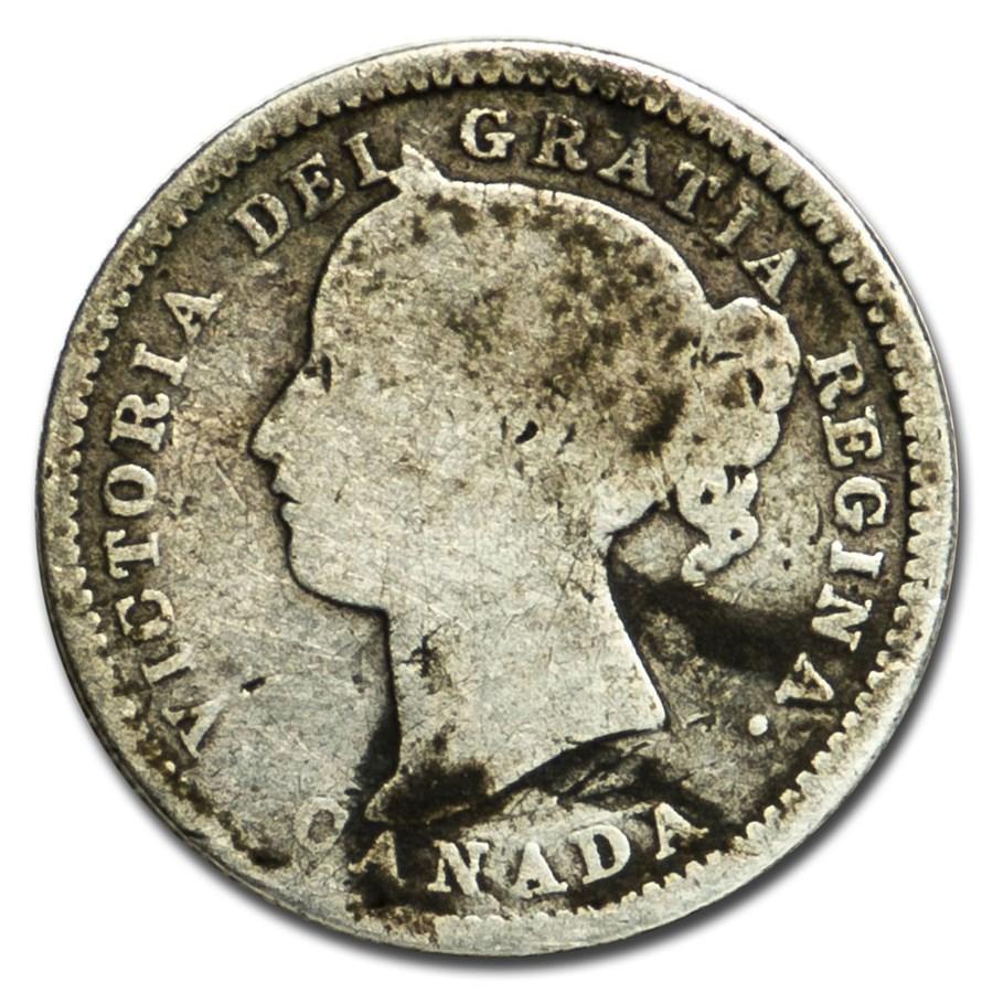 1894 Canada 10 Cents Good