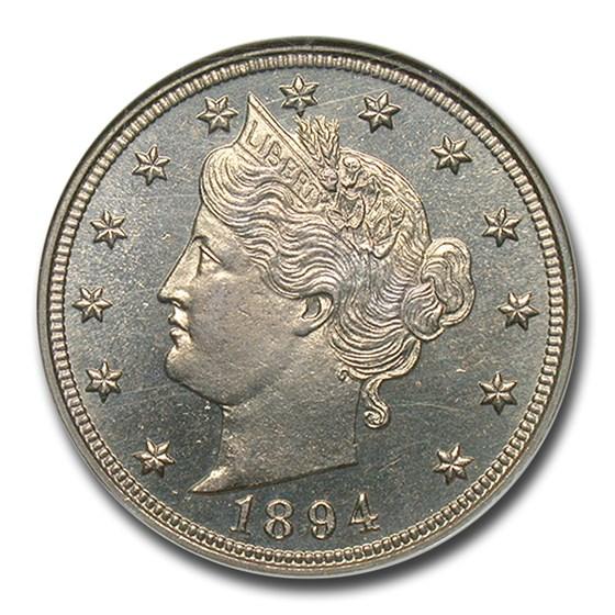 1894 Liberty Head V Nickel PF-65 NGC