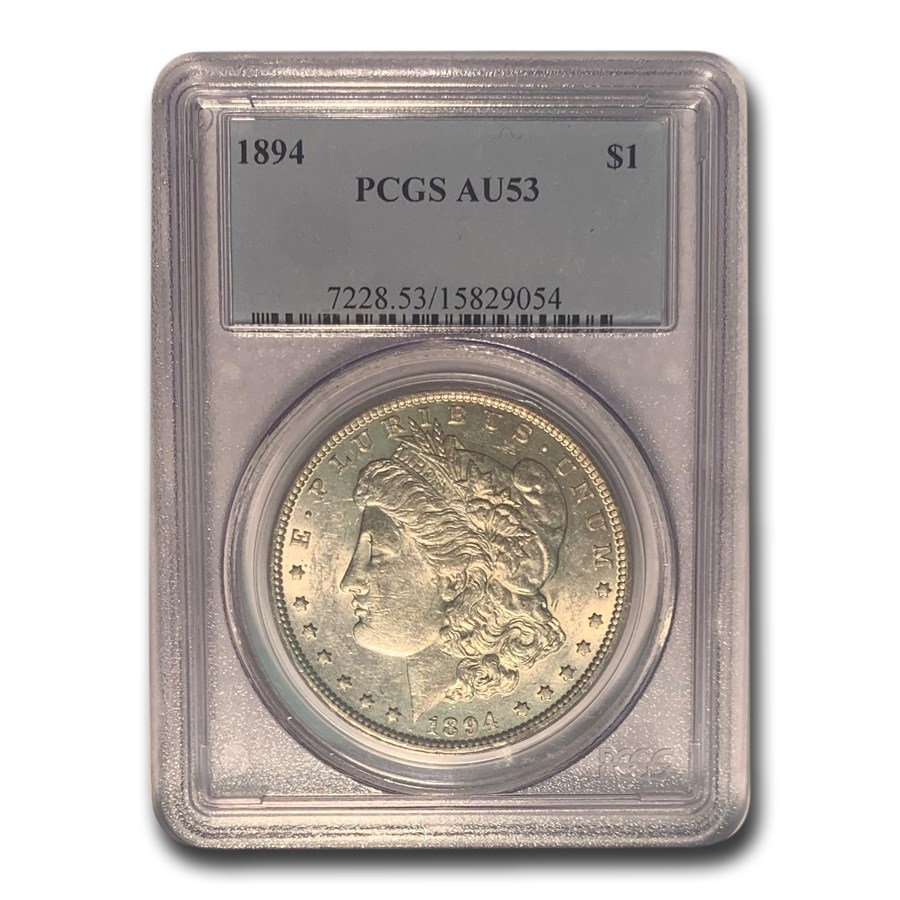 1894 Morgan Dollar AU-53 PCGS