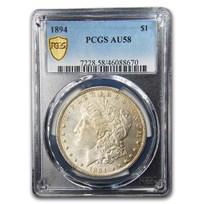 1894 Morgan Dollar AU-58 PCGS