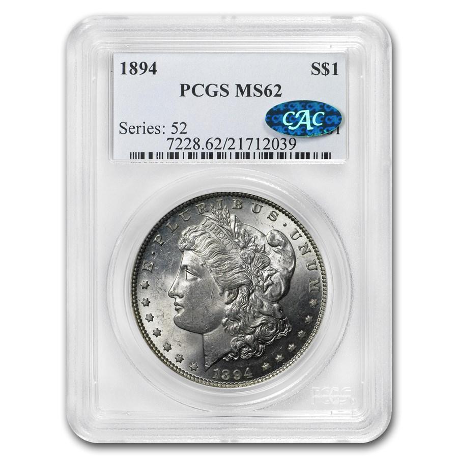 1894 Morgan Dollar MS-62 PCGS (CAC)