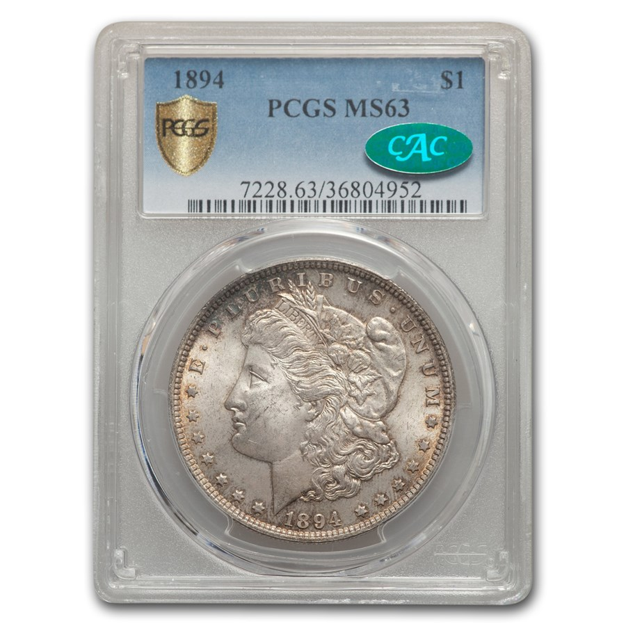1894 Morgan Dollar MS-63 PCGS CAC