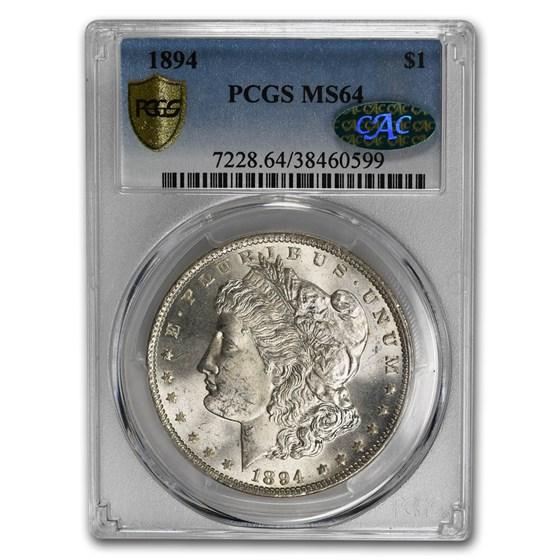 1894 Morgan Dollar MS-64 PCGS CAC