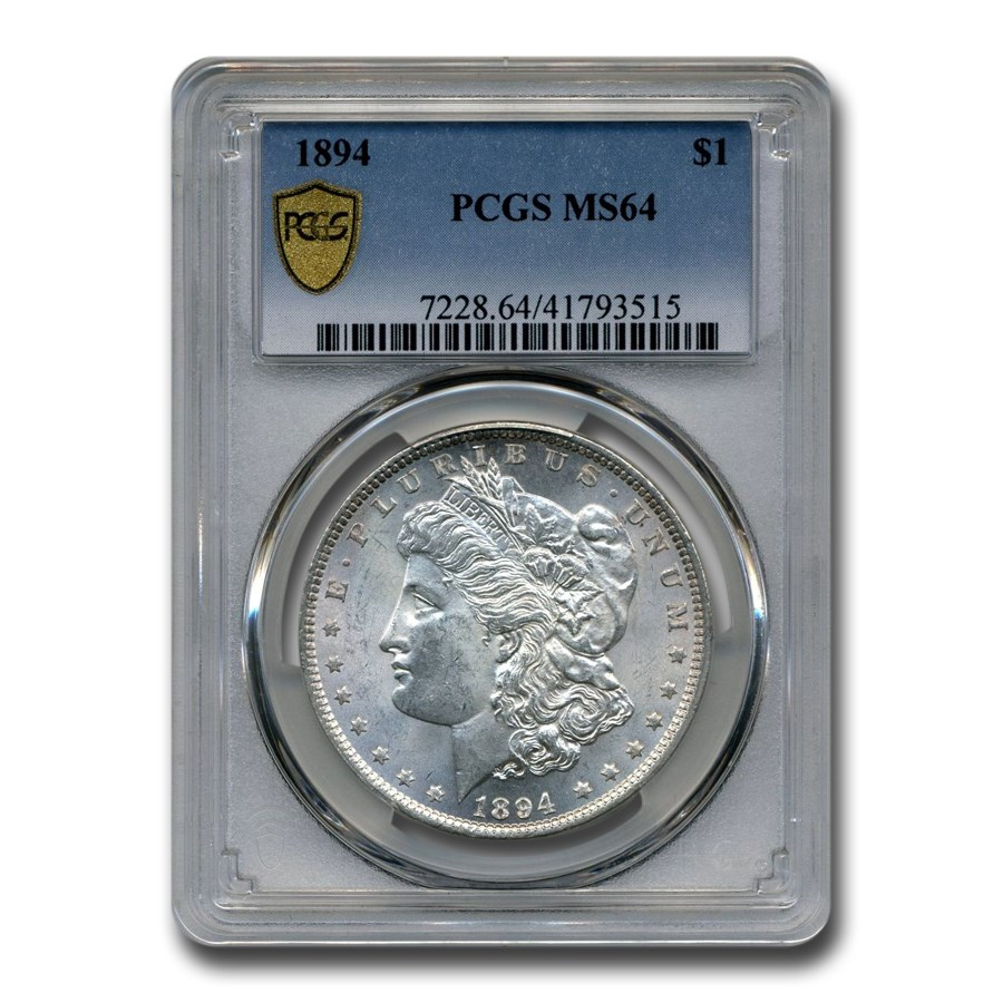1894 Morgan Dollar MS-64 PCGS