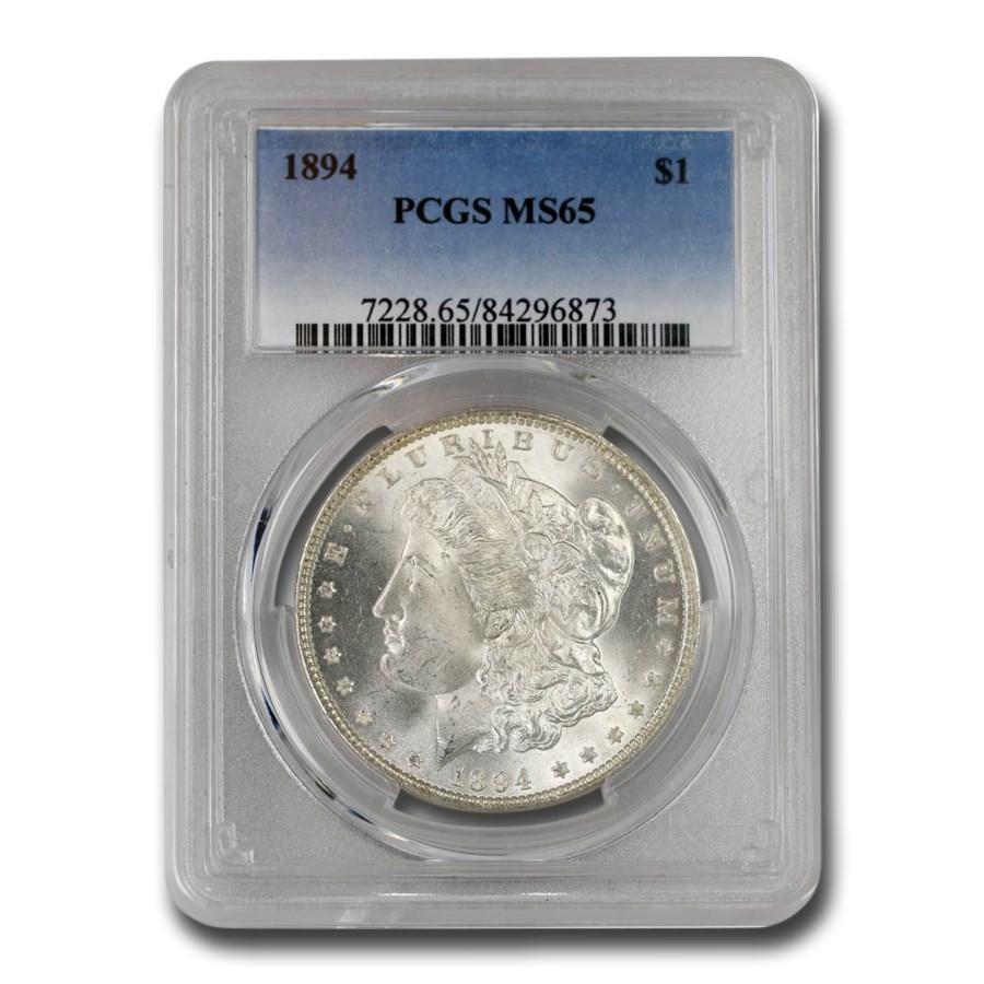 1894 Morgan Dollar MS-65 PCGS