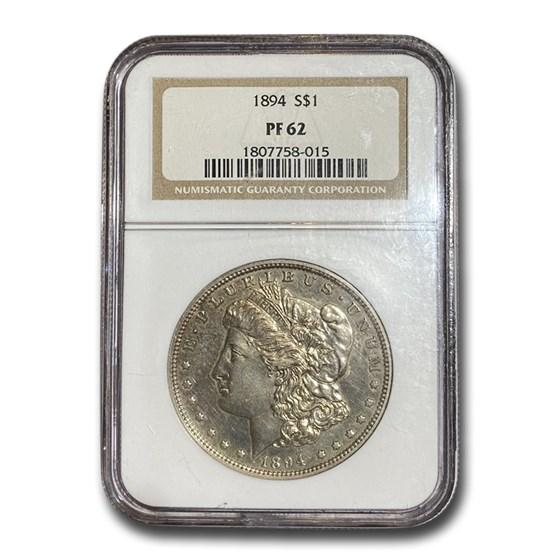 1894 Morgan Dollar PF-62 NGC
