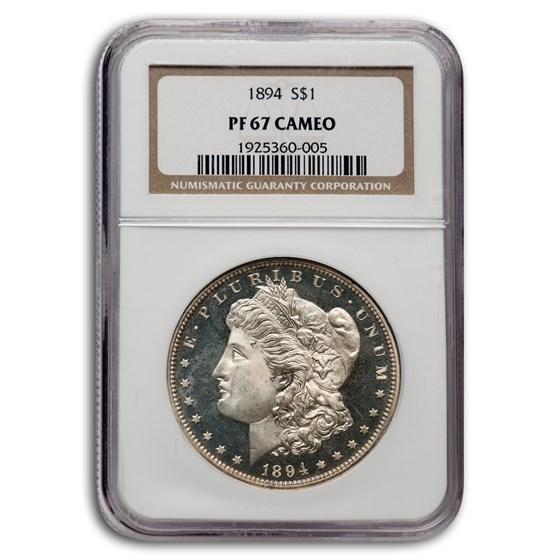 1894 Morgan Dollar PF-67 Cameo NGC