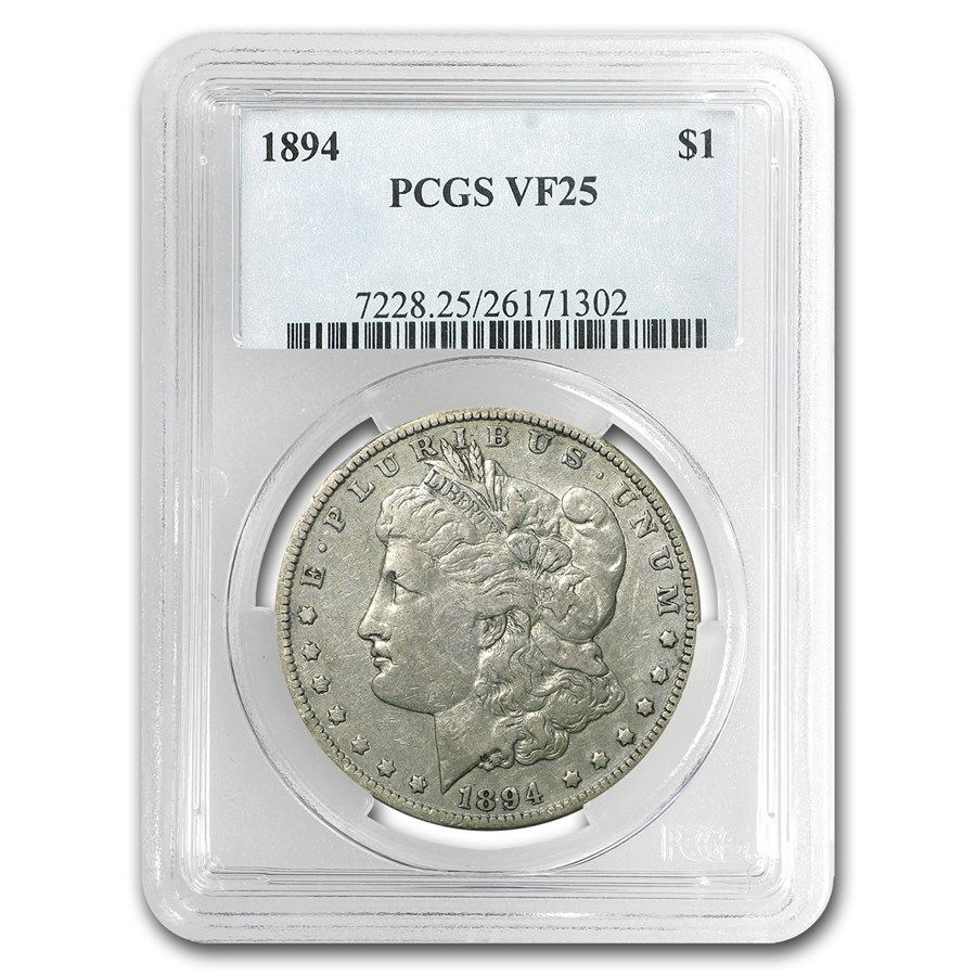 1894 Morgan Dollar VF-25 PCGS (Semi-Key Date)