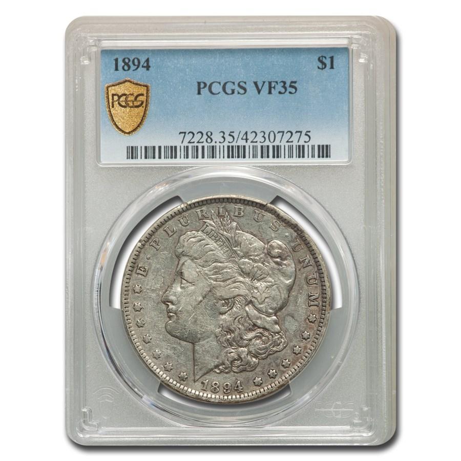 1894 Morgan Dollar VF-35 PCGS