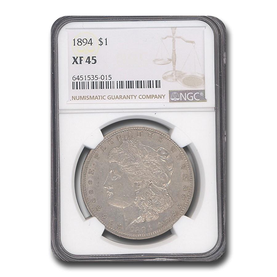 1894 Morgan Dollar XF-45 NGC