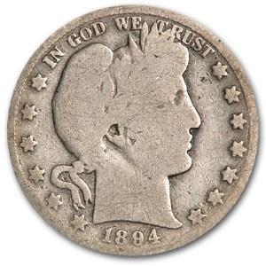 1894-O Barber Half Dollar AG