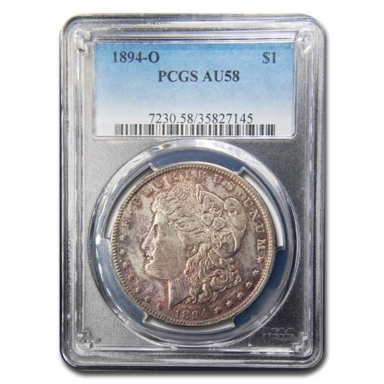 1894-O Morgan Dollar AU-58 PCGS