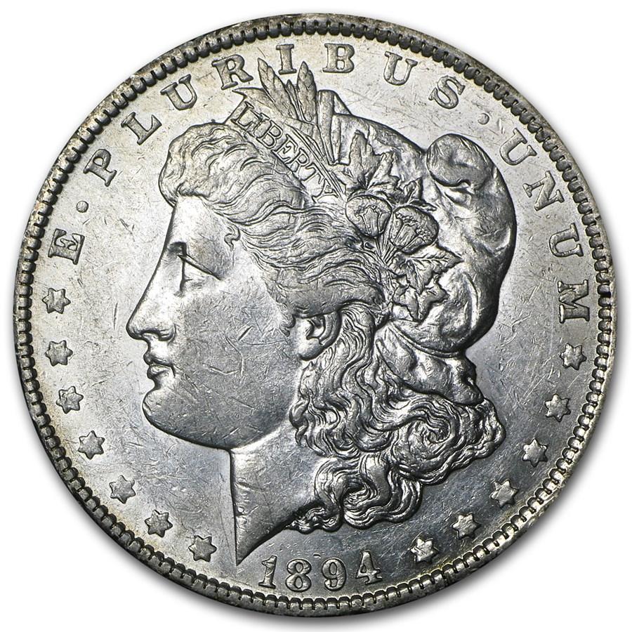 1894-O Morgan Dollar AU