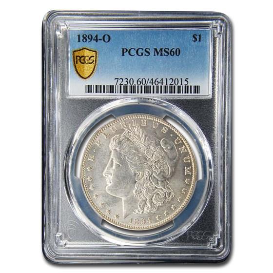 1894-O Morgan Dollar MS-60 PCGS