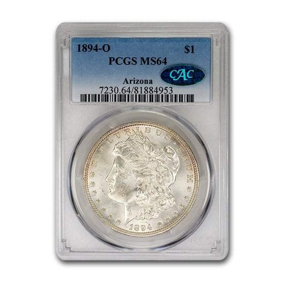 1894-O Morgan Dollar MS-64 PCGS CAC
