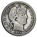 1894-S Barber Half Dollar Good