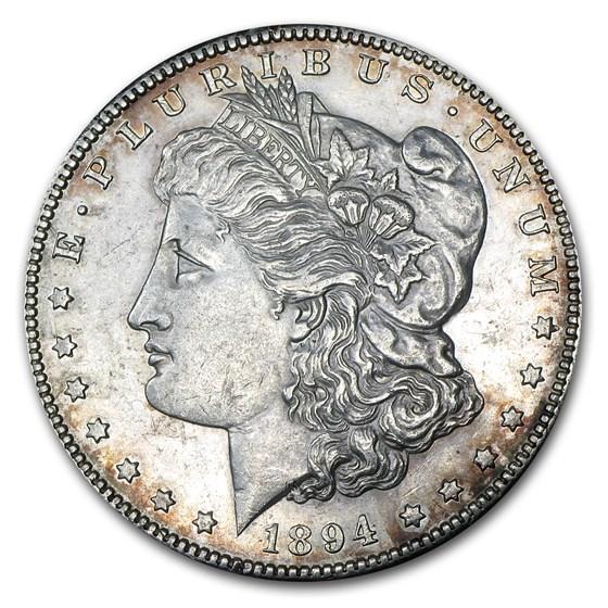 1894-S Morgan Dollar AU