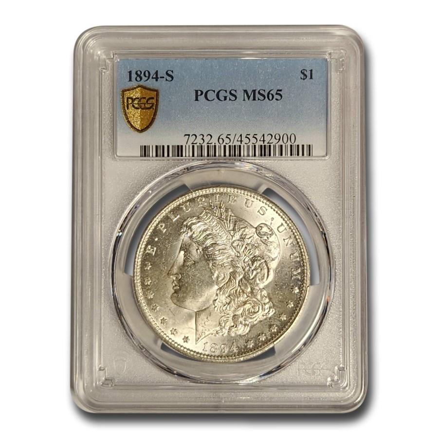 1894-S Morgan Dollar MS-65 PCGS